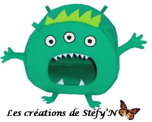 Cabane monstre vert furet cochon d`inde rat