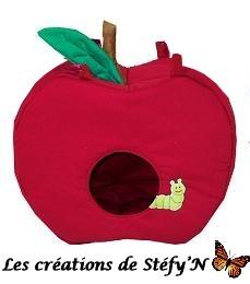 dodo cabane pomme furet, cochon d`inde, rat, souris, rongeur