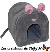 cabane z`au dodo niche forme souris furet cochon d`inde rat rongeur