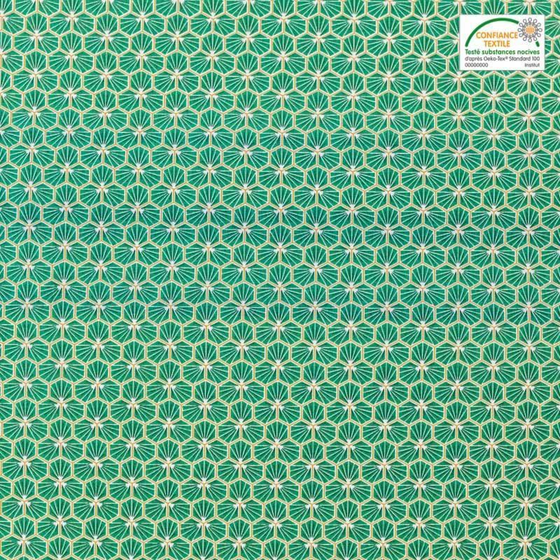 coton trèfle vert