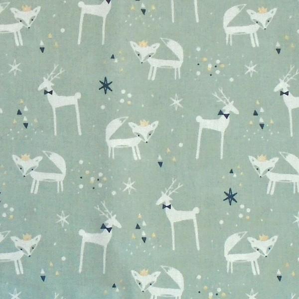 coton renard cerf