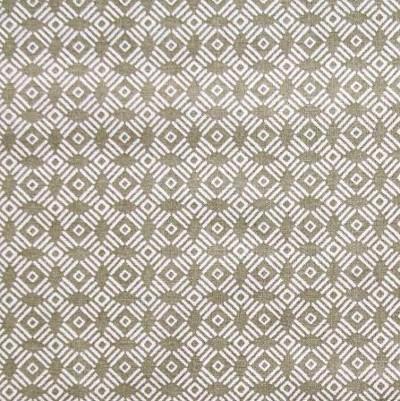 coton cercle graphique gris