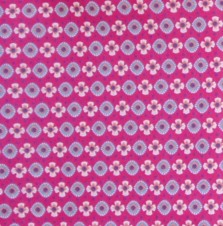 coton fleur fushia