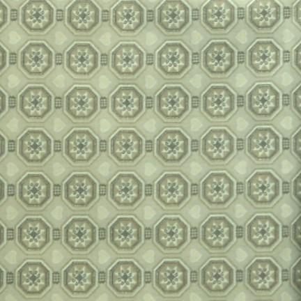 coton hexagone taupe