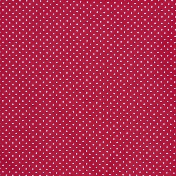 coton petit pois rouge