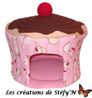 cabane cupcake furet cochon d`inde rat chinchilla rongeur