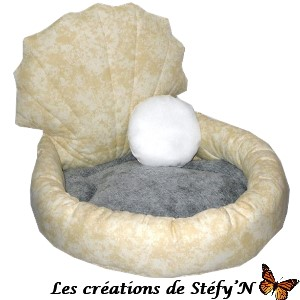 couffin fauteuil coquillage furet cochon d`inde rat chinchilla rongeur